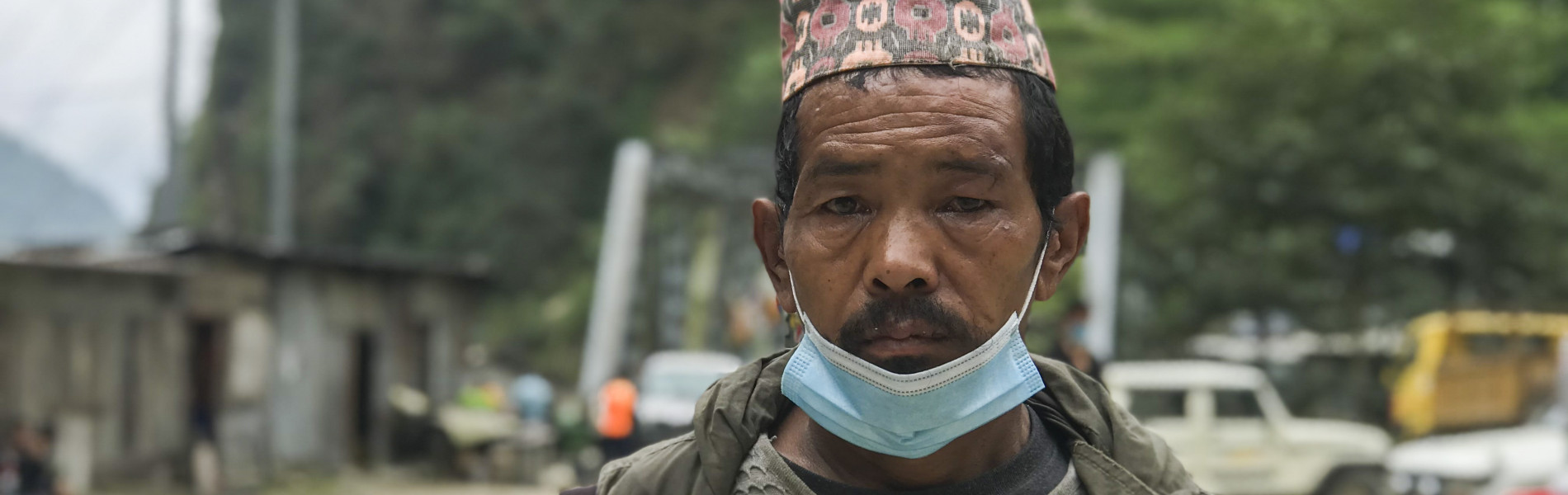 "Nepal: ""Before I could run to my friends, the landslide had swept me off my feet."